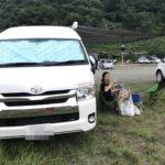 キャンカーの聖地⁉︎田代運動公園でキャンプ!