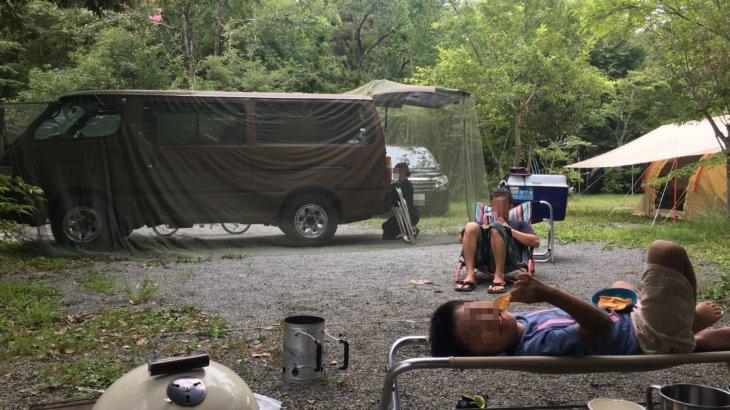 新富士オートキャンプ場で、初めてのグルキャンをしてきた!