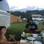 学校橋河原は、手軽にキャンプが楽しめる素晴らしい場所だった