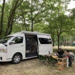 久しぶりの3連休は、日光・まなかの森で雨キャンプを味わってきた!